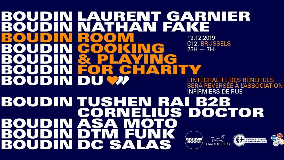 SOLD OUT - C12 x Boudin Room • Laurent Garnier / Nathan Fake event cover