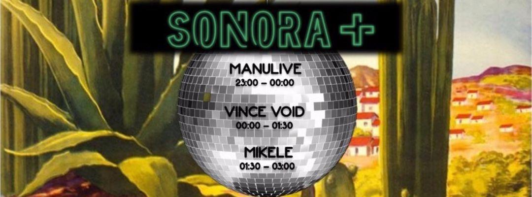Cartel del evento SONORA +