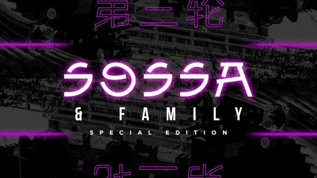 Cartel del evento SOSSA & Family @ BOA Room