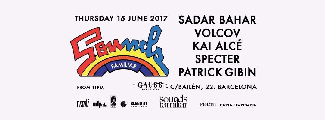 Cartel del evento Sounds Familiar Off Week Showcase