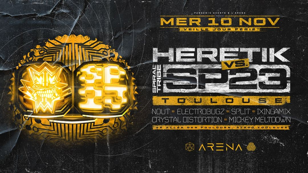 HERETIK vs SP23 : Toulouse event cover