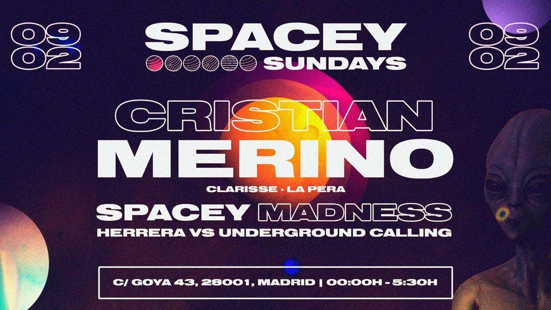 Copertina evento Spacey Sundays @Goya Social Club