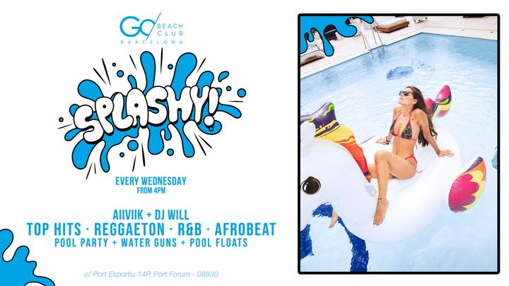 Cover for event: Splashy! - Every Wednesday Afternoon