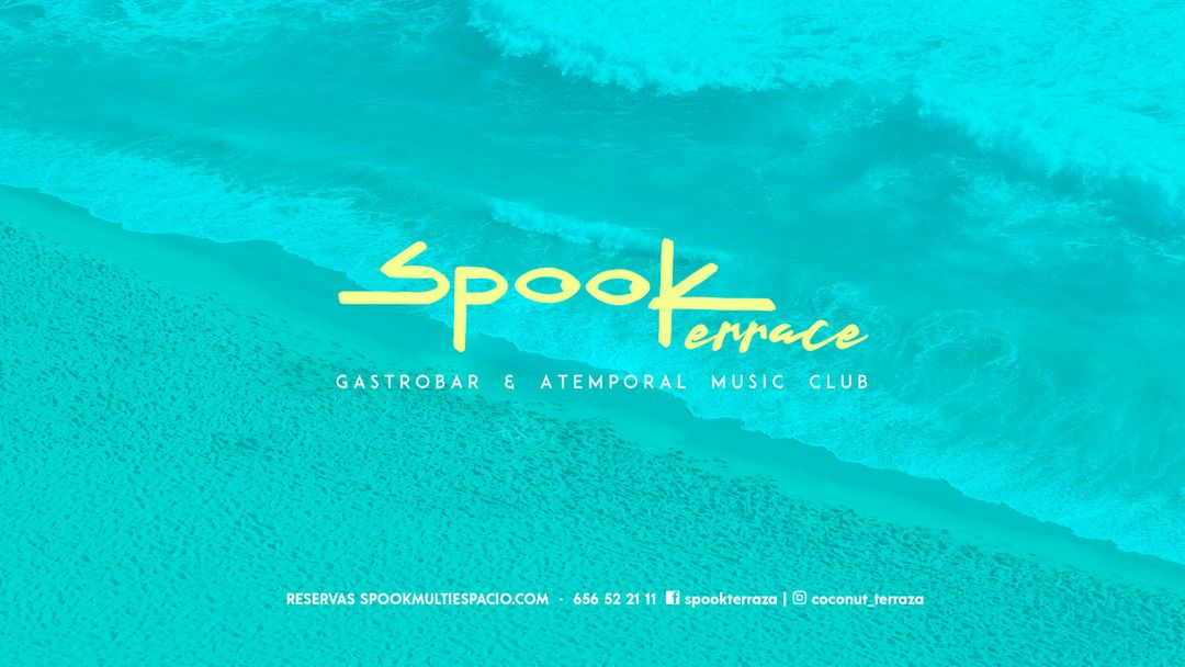 Spook Terraze-coconut event cover