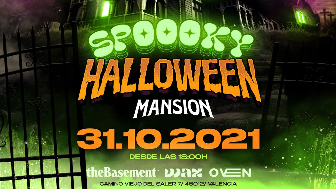 SPOOKY HALLOWEEN MANSION event cover