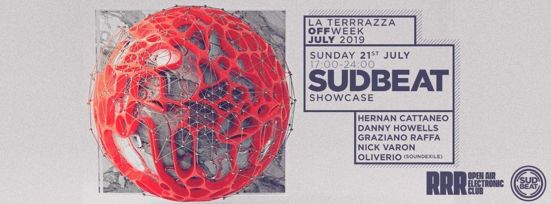 Couverture de l'événement Sudbeat Showcase Day Party | La Terrrazza Off Week July 2019