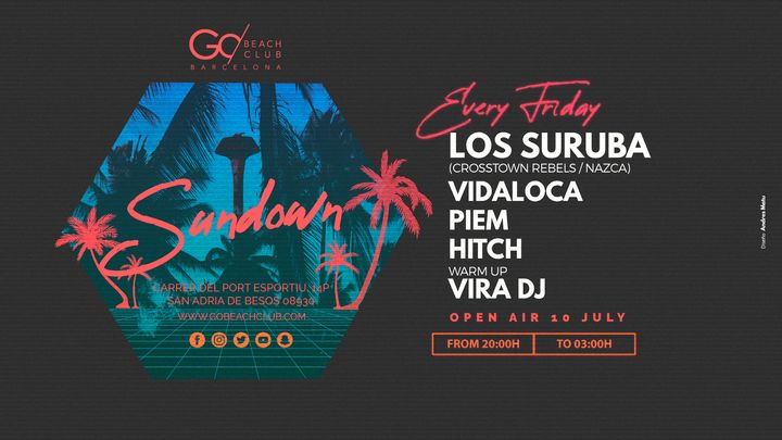 Cover for event: SUNDOWN presenta: LOS SURUBA