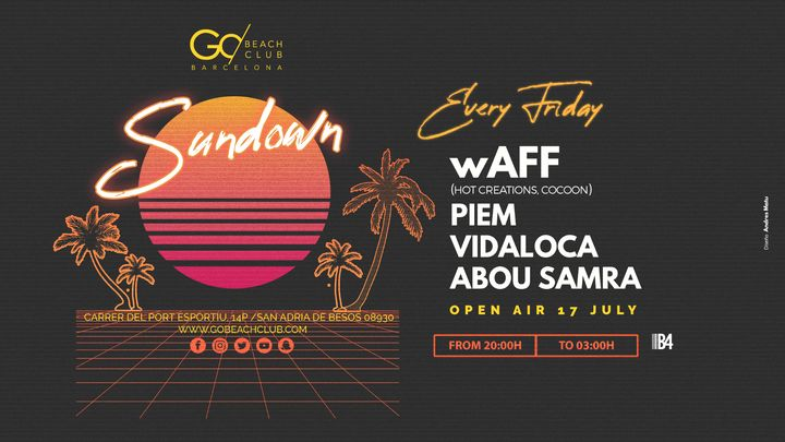 Cover for event: Sundown presents: wAFF