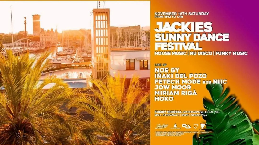 Sunny Dance Festival - Daytime Terrace - A House Music Experience event cover