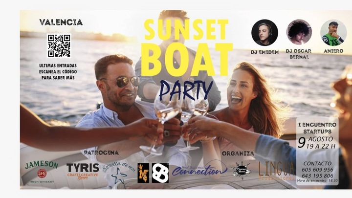 Cover for event: Sunset Boat Party