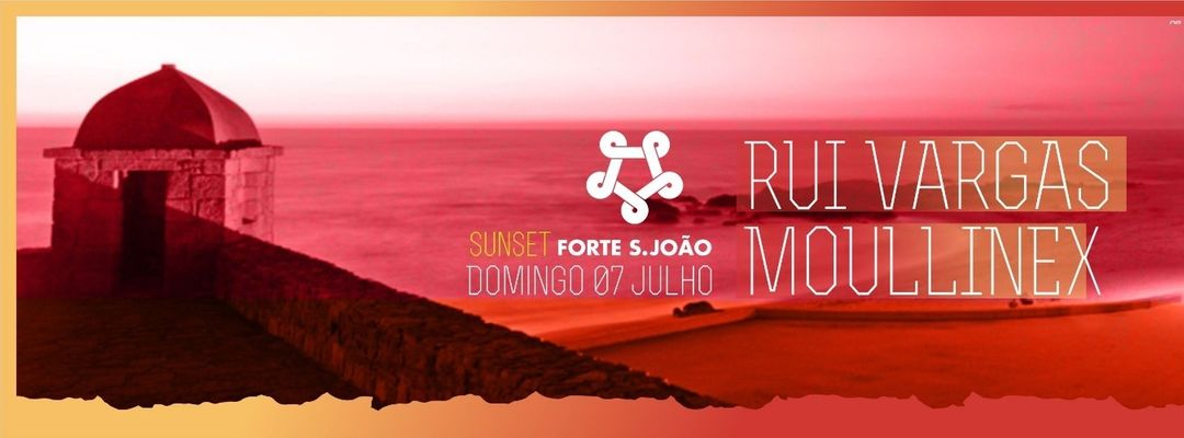 Cartel del evento Sunset No Forte