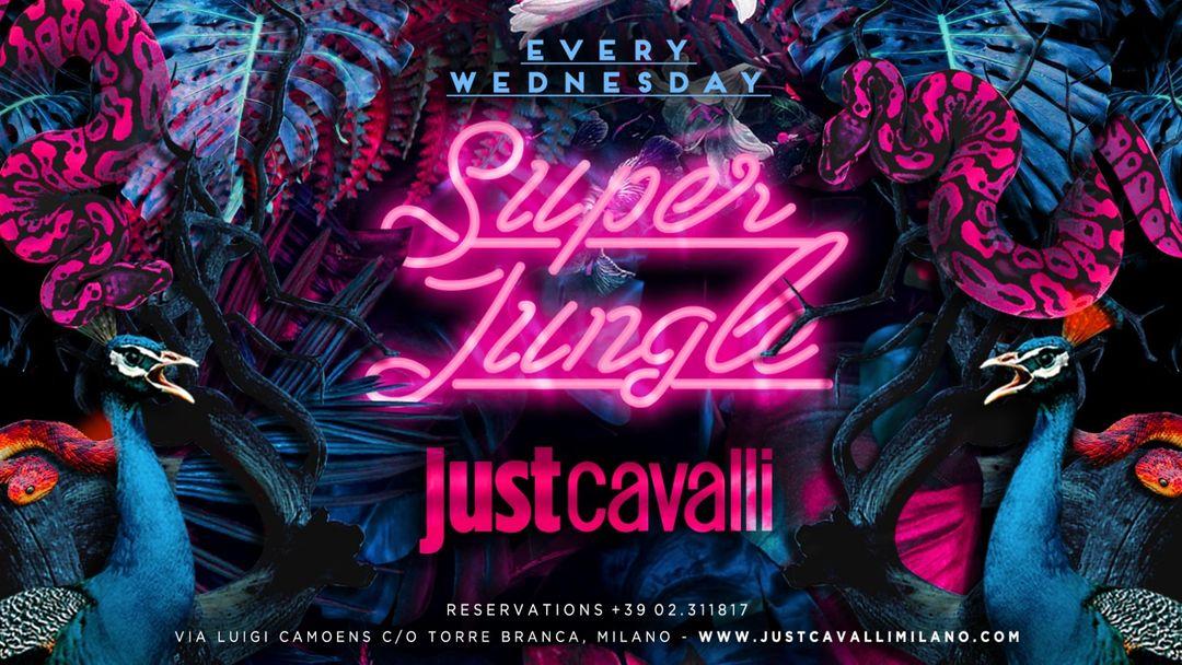 Cartel del evento SUPER JUNGLE - WEDNESDAY NIGHT