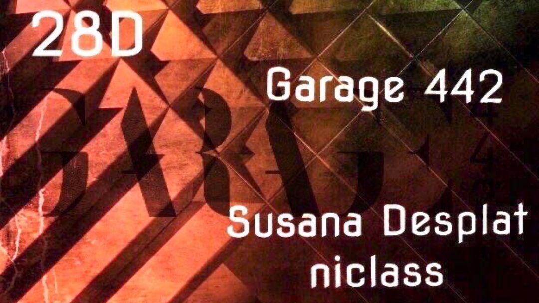 Cartel del evento SUSANA DESPLAT & NICLASS