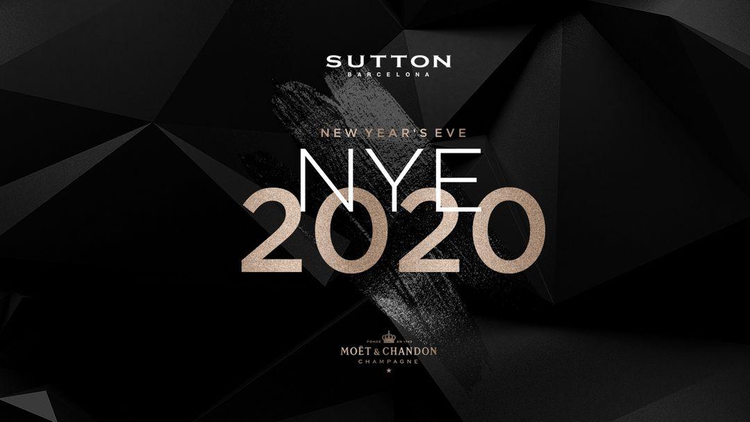 Cartel del evento Sutton Barcelona NYE - New Year's Eve 2020