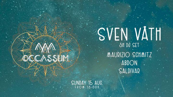 Cover for event: SVEN VATH - Occassum Sundays