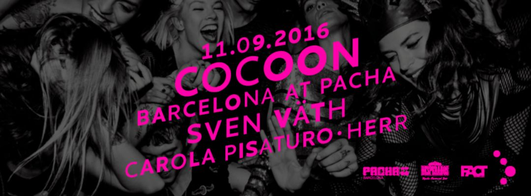 Sven Väth presented by Cocoon event cover