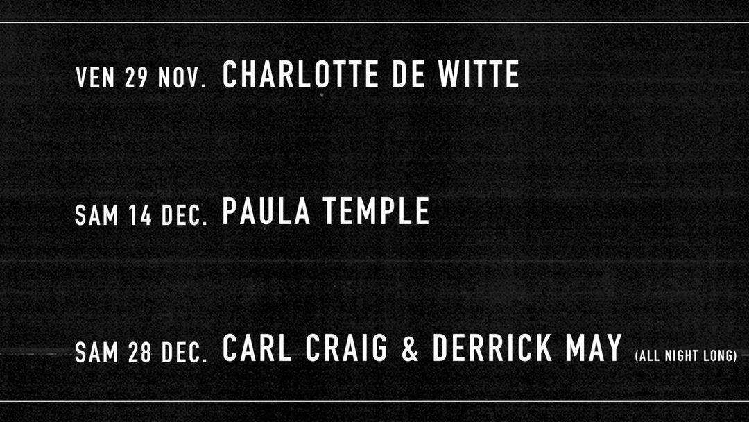Cartel del evento T7: Paula Temple, Tommy Four Seven, Sentimental Rave, Giant Swan