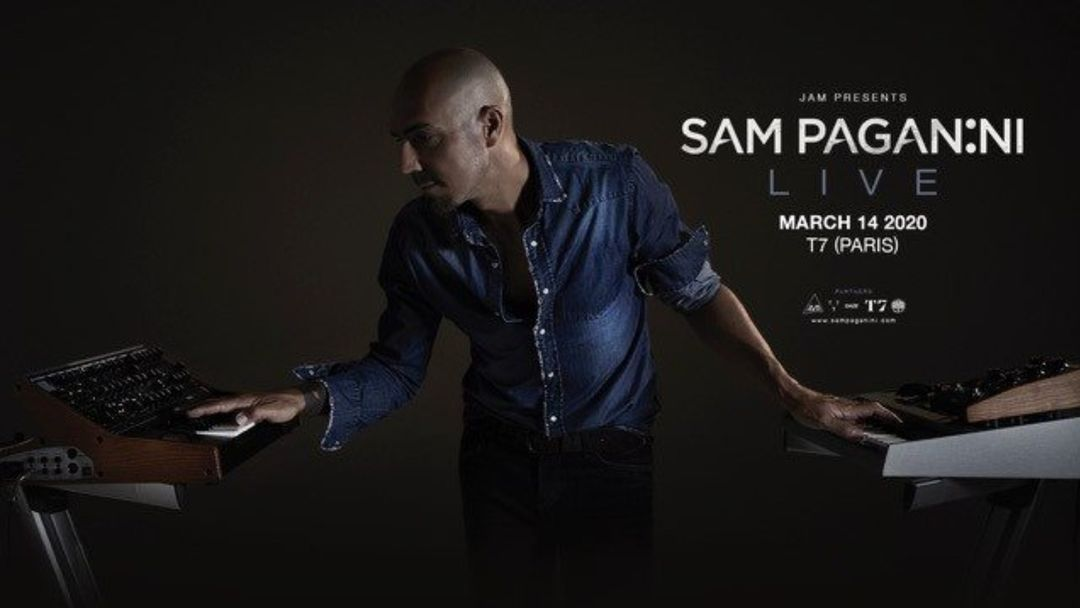 Cartel del evento T7 x JAM: Sam Paganini (Live)