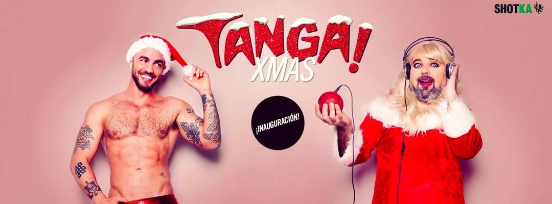 Cartel del evento Tanga! Xmas