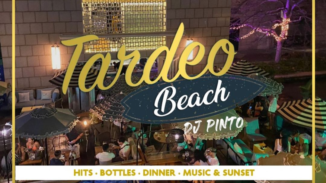 TARDEO BEACH - FREE DRINK AT OPEN AIR TERRACE WITH LIVE DJ event cover