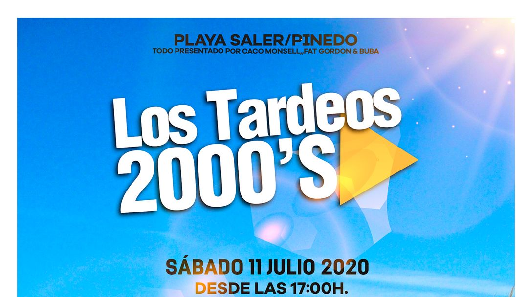 Tardeos 2000's by XL event cover