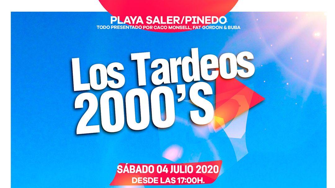 Cartel del evento Tardeos 2000's by XL