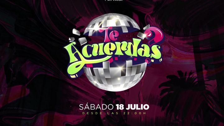 Cover for event: TE ACUERDAS? - Opium Beach Marbella 2020 - Sabado 18 Julio