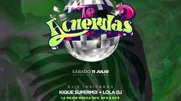 Cover for event: TE ACUERDAS? - Opium Beach Marbella 2020 - Sabado