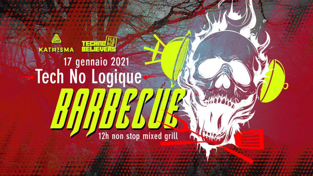 Capa do evento Tech No Logique Barbecue - 12h non stop mixed grill