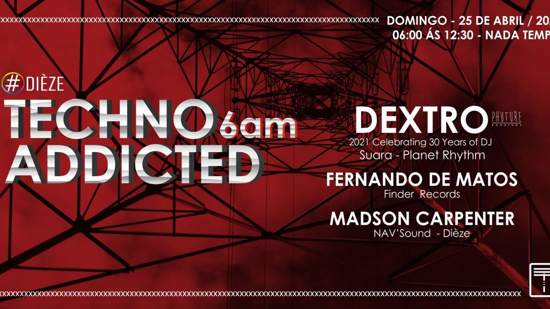 Techno Addicted  6AM event cover