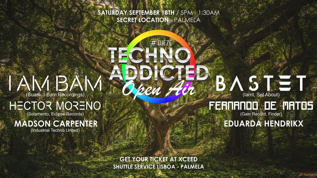 Techno addicted  Open Air Palmela event cover