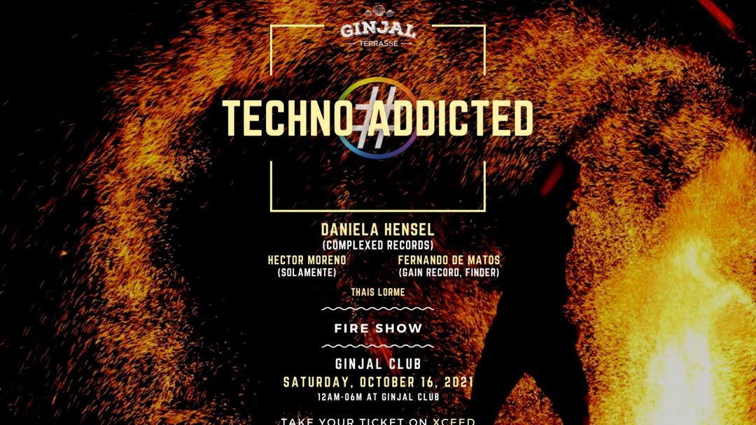 Techno Addicted   with Daniela Hensel 16 october event cover