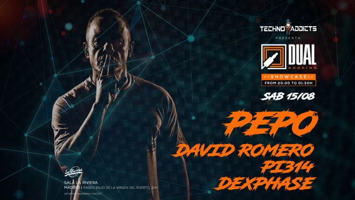Cover for event: Techno Addicts presenta Dual Booking Showcase  / Dj Pepo (Special Set)  + +