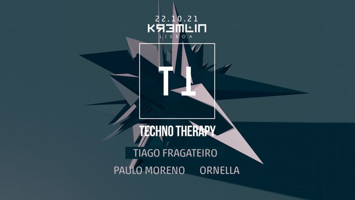 Cover for event: Techno Therapy w/ Tiago Fragateiro