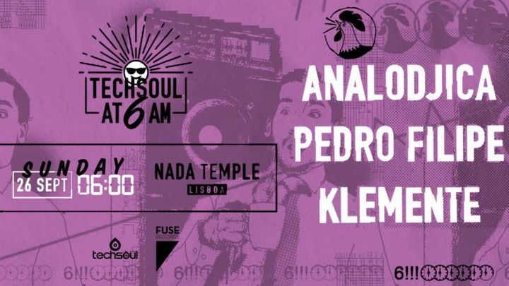 Cover for event: Techsoul at 6AM w/ Analodjica