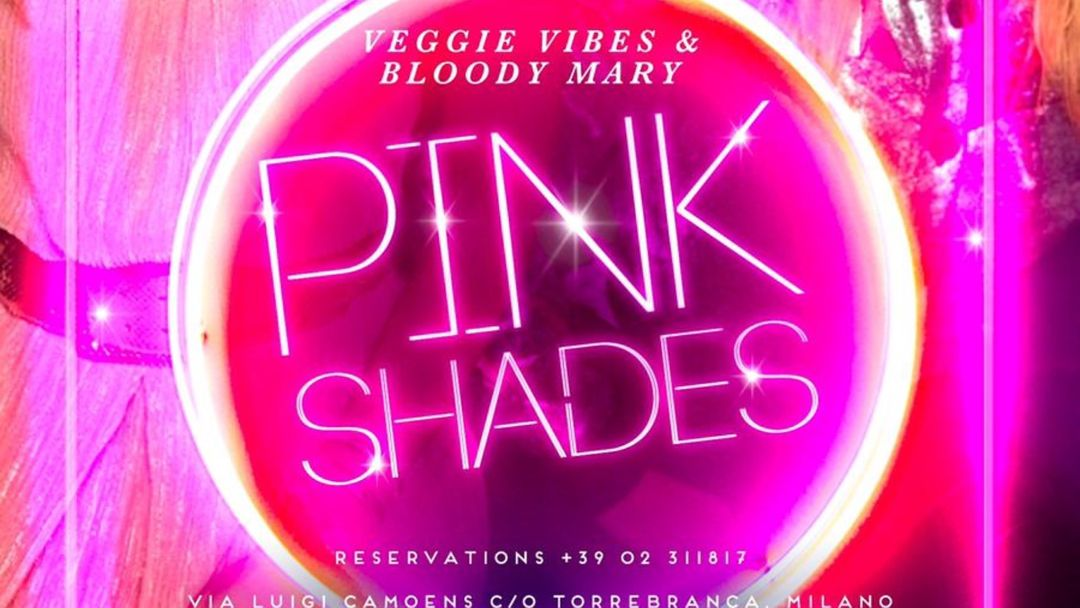 PINK SHADES - MONDAY NIGHT event cover