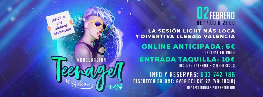 Teenager | Sesión Light en Valencia-Eventplakat
