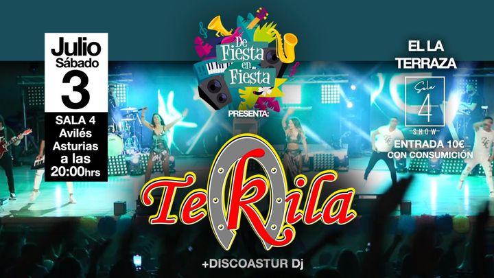 Cover for event: TEKILA en Directo!!! 3 de Julio en la TERRAZA DE CUATRO