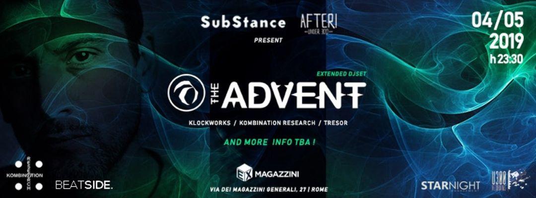 The Advent (Klockworks / Kombination Research / Tresor) event cover