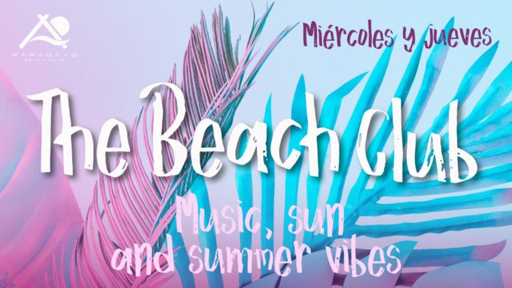 Cover for event: The Beach Club 15:00 a 19:00