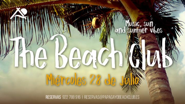Cover for event: The Beach Club 16:00 a 20:00