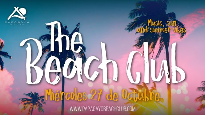 Cover for event: The Beach Club 21:30 a 3:00