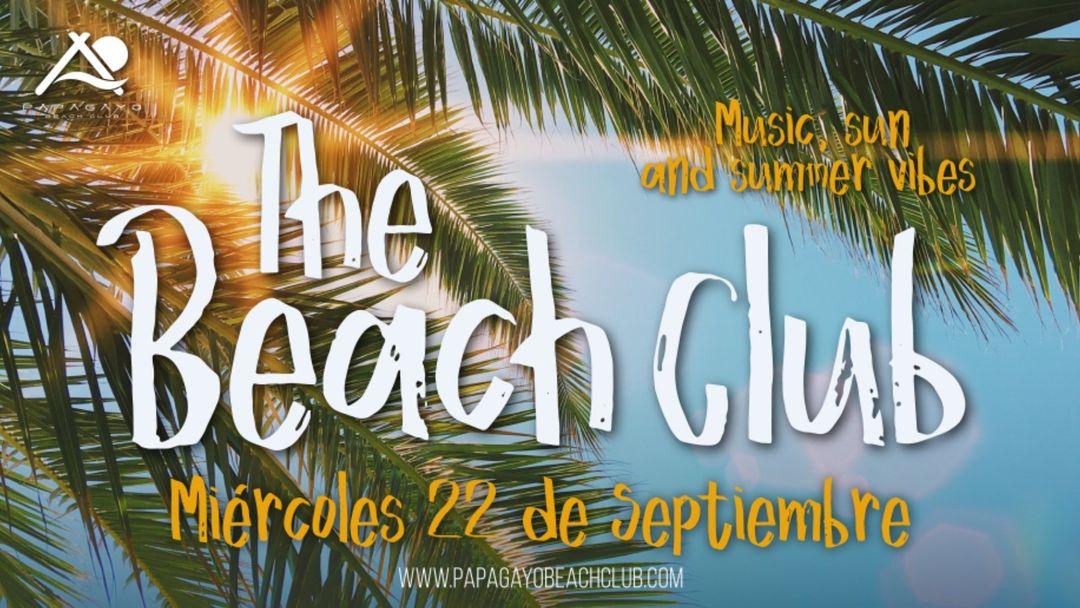 The Beach Club 21:30 a 3:00 event cover