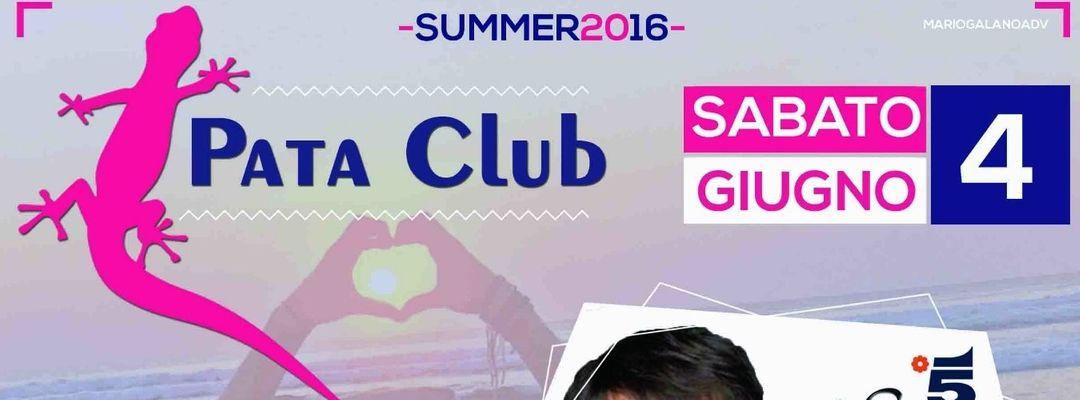 THE BIG OPENING @ PATA CLUB -Eventplakat