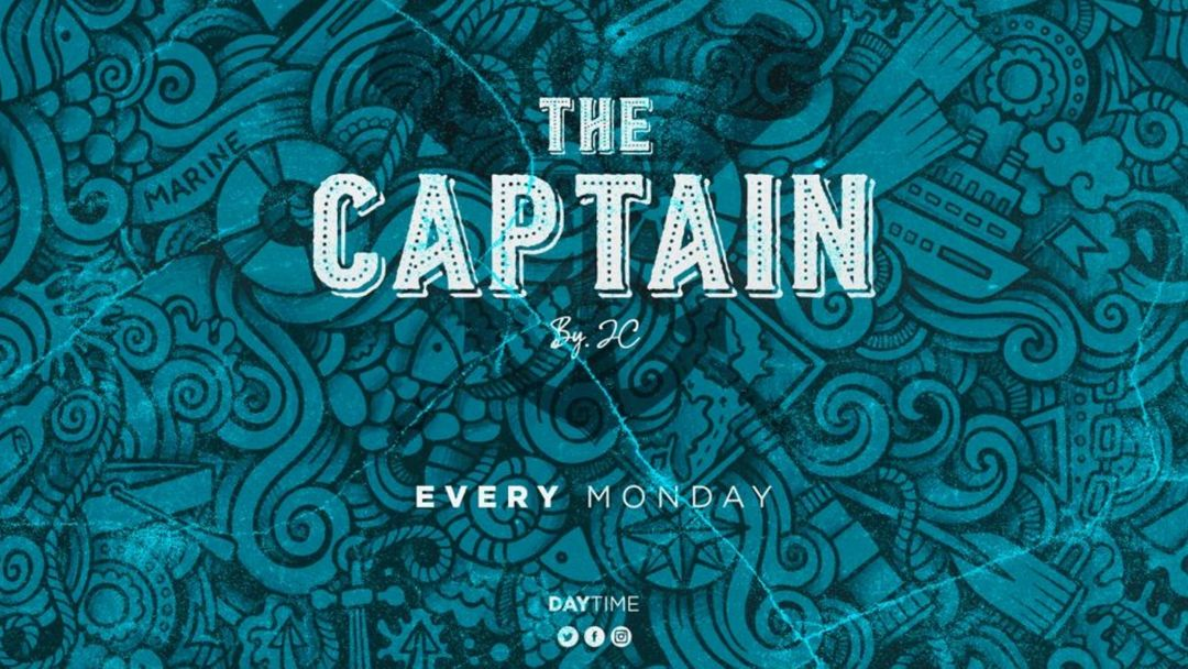 The Captain event cover