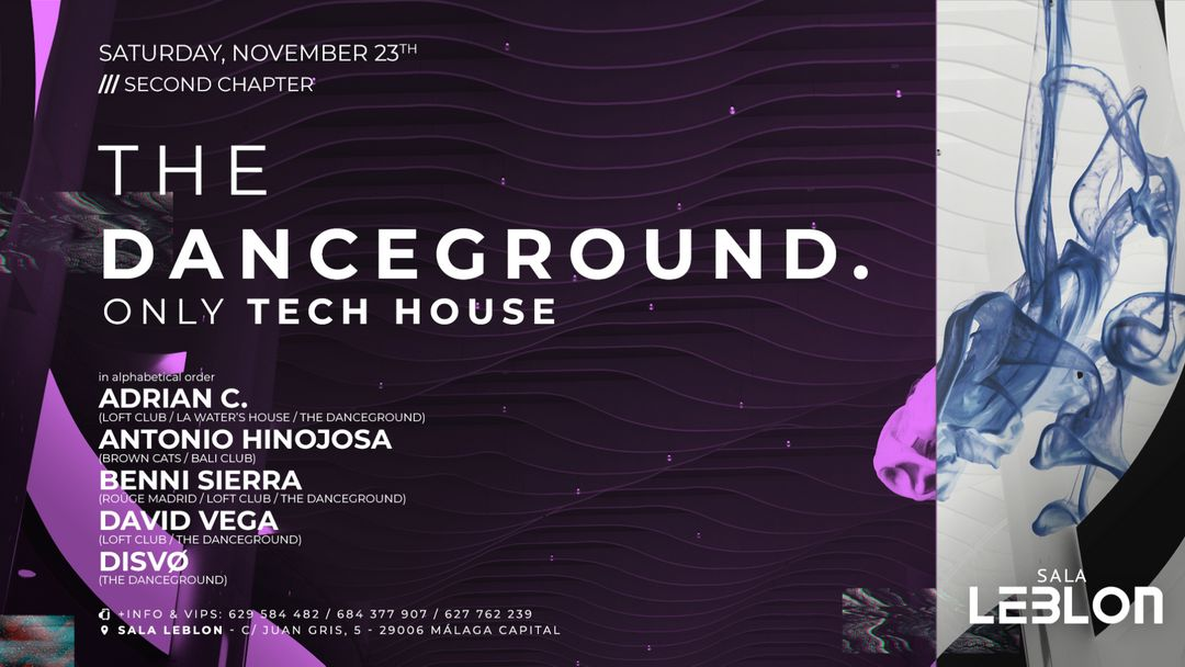 Cartel del evento The Danceground - Second Chapter