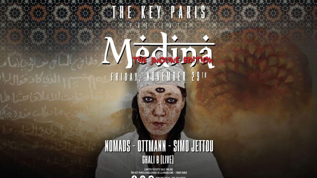 The Key Paris presents : Medina (The Jnoune Edition) event cover