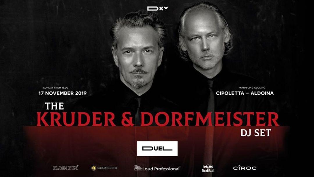 The Kruder&Dorfmeiester Dj Set: 25th Anniversary event cover