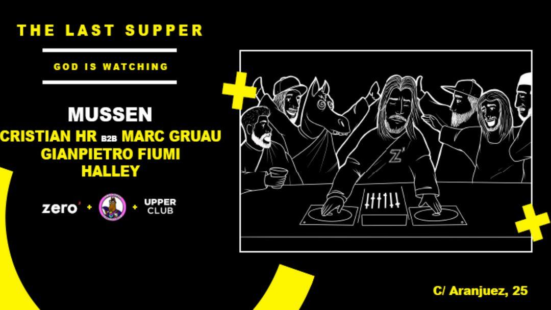 Cartel del evento The Last Supper