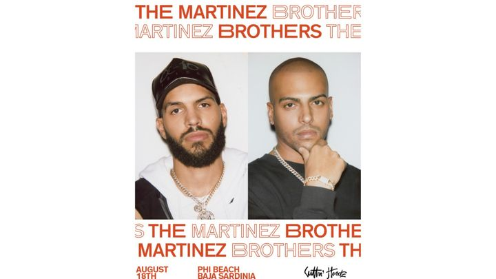 Cover for event: The Martinez Brothers